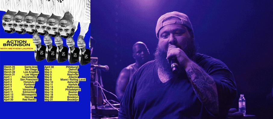 Action Bronson at Toads Place