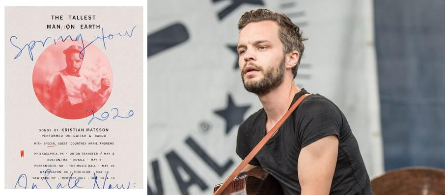 The Tallest Man on Earth at College Street Music Hall