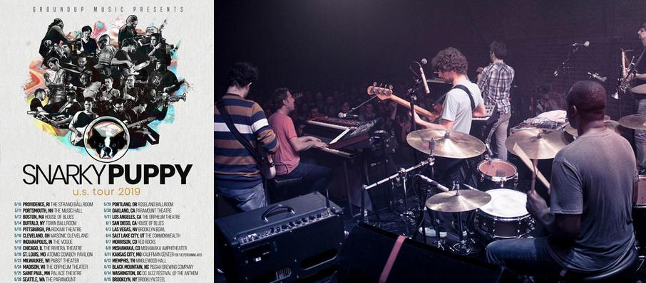 Snarky Puppy at Toads Place