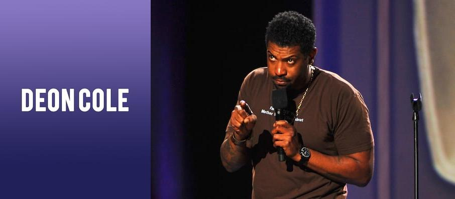 Deon Cole at College Street Music Hall