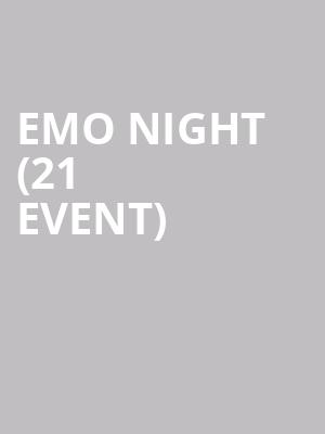 Emo Night (21+ Event) at Toads Place