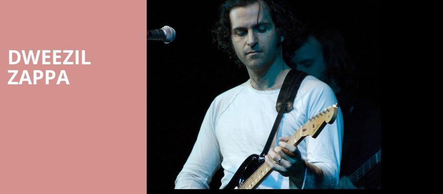 Dweezil Zappa, College Street Music Hall, New Haven