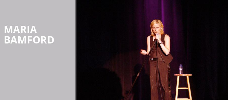 Maria Bamford, College Street Music Hall, New Haven