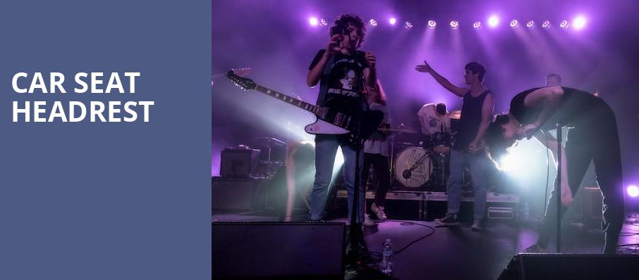 Car Seat Headrest, College Street Music Hall, New Haven