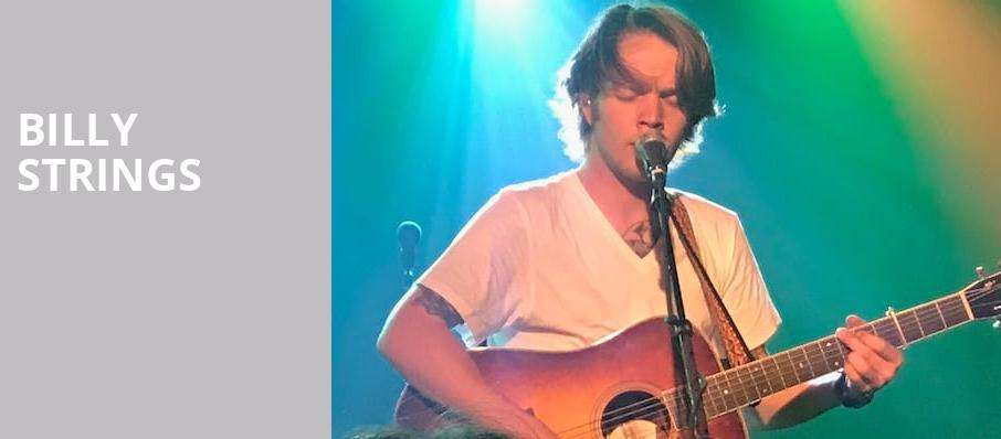 Billy Strings, College Street Music Hall, New Haven
