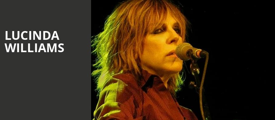 Lucinda Williams, College Street Music Hall, New Haven
