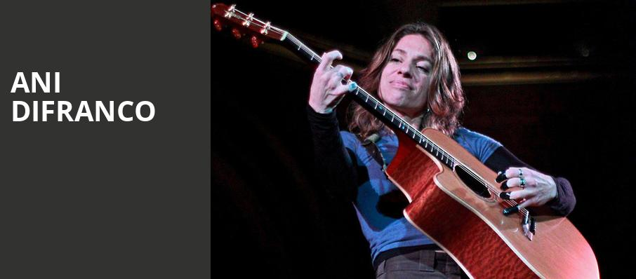 Ani DiFranco, College Street Music Hall, New Haven